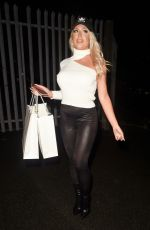 Eve Gale Seen leaving I Saw It First HQ in Manchester