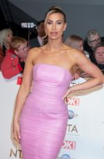 Ferne McCann At 25th National Television Awards, Arrivals, O2, London