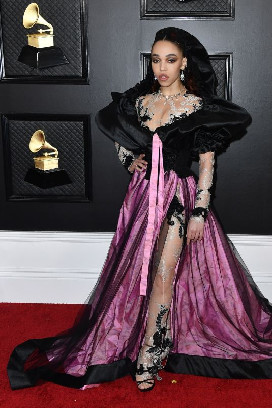 FKA Twigs At 62nd Annual GRAMMY Awards at STAPLES Center in Los Angeles