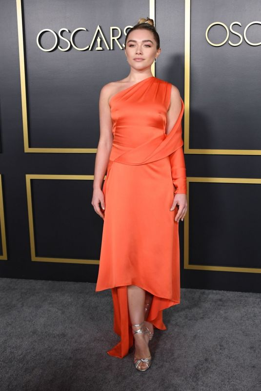 Florence Pugh At 92nd Oscars Nominees Luncheon in Hollywood