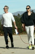 Gal Gadot Takes a hike in Los Angeles