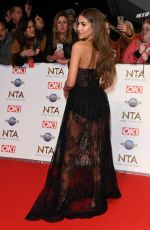 Georgia Steel At 25th National Television Awards, Arrivals, O2, London