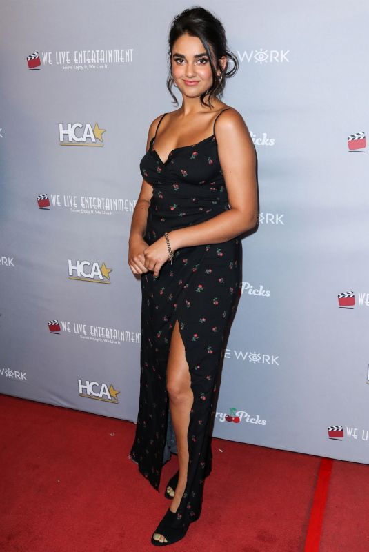 Geraldine Viswanathan At 3rd Annual Hollywood Critics Awards at the Taglyan Cultural Complex in Hollywood
