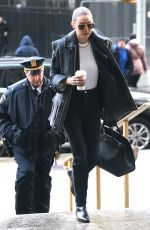 Gigi Hadid Arrives at Manhattan Criminal Court In New York City