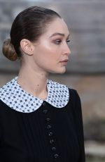 Gigi Hadid Walks the runway during the Chanel Haute Couture Spring/Summer 2020 show in Paris