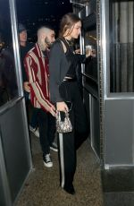 Gigi Hadid & Zayn Malik Arrive at Eleven Madison Park to celebrate his 27th birthday in New York