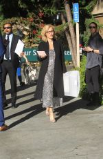 Gillian Anderson Leaves the Four Seasons in Beverly Hills