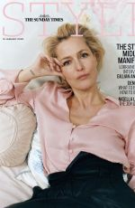 Gillian anderson, The Sunday Time Style 2020