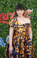 Ginnifer Goodwin At 7th Annual Gold Meets Golden Brunch Event, Arrivals, Virginia Robinson Gardens, Los Angeles