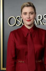 Greta Gerwig At 92nd Academy Awards Nominees Luncheon at the Ray Dolby Ballroom in Hollywood