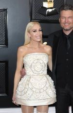 Gwen Stefani At 62nd Annual GRAMMY Awards in Los Angeles
