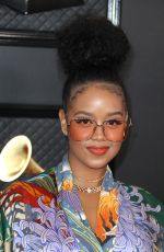 H.E.R. At 62nd Annual Grammy Awards, Arrivals, Los Angeles