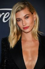 Hailey Baldwin At Warner Bros. & InStyle Golden Globe After Party in Beverly Hills