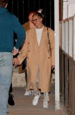 Hailey Bieber & Justin Bieber Arrive for a Wednesday night church services in Beverly Hills
