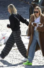Hailey Bieber Keeps it comfy while out with her bestie looking at real estate in Los Angeles