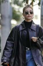 Hailey Bieber Out for lunch in West Hollywood