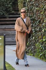 Hailey Bieber Out in West Hollywood