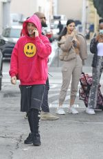 Hailey & Justin Bieber Seen leaving a Coffee Shop in Beverly Hills