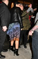 Halsey Arrives at the SNL afterparty in New York