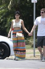 Halsey & Evan Peters Spotted getting lunch at Main Beach on the Gold Coast in Australia