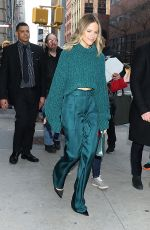 Halston Sage Outside Build Series in NY