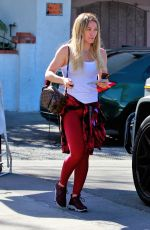 Hilary Duff Out for lunch in LA