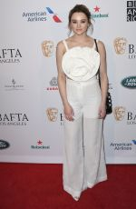 Hunter King Arrives at The BAFTA Los Angeles Tea Party held at the Four Seasons Hotel Los Angeles