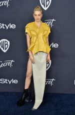 Hunter Schafer Attends The 2020 InStyle And Warner Bros. 77th Annual Golden Globe Awards Post-Party