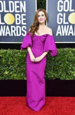 Isla Fisher At 77th Annual Golden Globe Awards 2020 in Beverly Hills