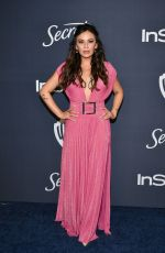 Janel Parrish At Warner Bros. & InStyle Golden Globe After Party in Beverly Hills