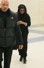 Janet Jackson Seen at the JFK airport