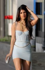 Jasmin Walia At Fig & Olive in West Hollywood