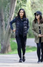 Jenna Dewan Hiking with Emmanuelle Chriqui in Los Angeles