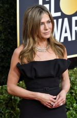 Jennifer Aniston At 77th Annual Golden Globe Awards 2020 in Beverly Hills