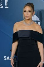 Jennifer Lopez At 26th Annual Screen Actors Guild Awards at Shrine Auditorium, Los Angeles