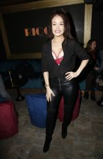 Jess Impiazzi Outside the Ricco Lounge and Club launch party in London