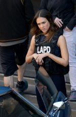 "Jessica Alba On the set of ""L.A"