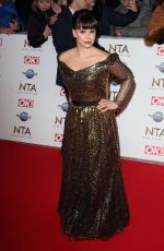 Jessica Fox At 25th National Television Awards, Arrivals, O2, London