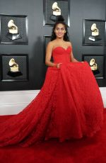Jessie Reyez At 62nd Annual GRAMMY Awards at Staples Center in Los Angeles