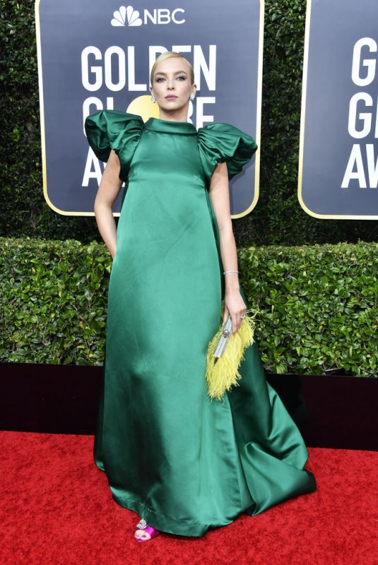 Jodie Comer At 77th Annual Golden Globe Awards in Beverly Hills