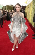 Joey King At the 77th Annual Golden Globe Awards in Beverly Hills