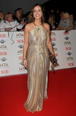 Julia Bradbury At 25th National Television Awards, Arrivals, O2, London