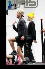 Julianne Hough At a gym in LA
