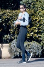 Kaia Gerber Gets a health drink out in Malibu