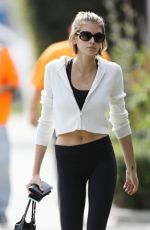 Kaia Gerber Heads to the gym in Los Angeles