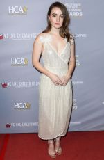 Kaitlyn Dever At Hollywood Critics Awards at Taglyan Complex in Los Angeles