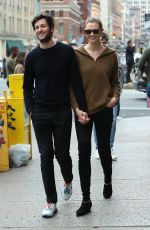 Karlie Kloss Out with her husband in New York City