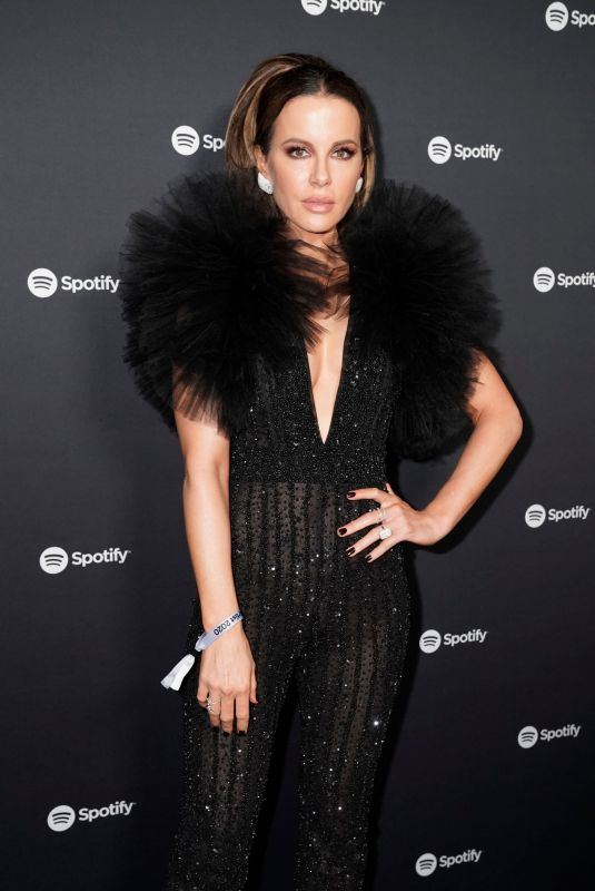 Kate Beckinsale At Spotify Best New Artist 2020 Party at The Lot Studios in West Hollywood
