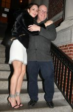 Katharine McPhee Seen at the Jane Hotel party after wrapping up her final Performance of