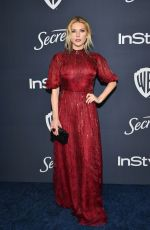 Katheryn Winnick At Warner Bros. & InStyle Golden Globe After Party in Beverly Hills